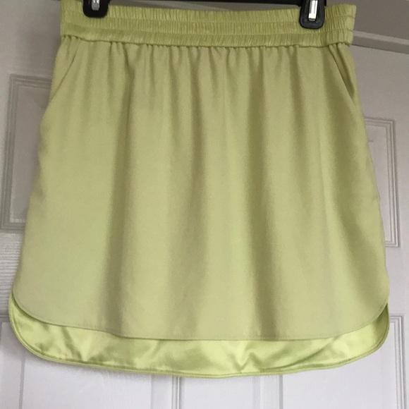 d6ace206bc Victoria's Secret Skirts | Guc Victorias Secret Lime Green Mini ...